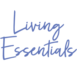 image of the logo for living essentials the school that offers certified aromatherapy and foot reflexology courses.