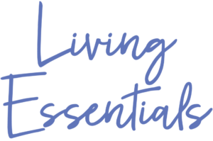 image of the logo for living essentials school where students can take certified aromatherapy and foot relexology courses.